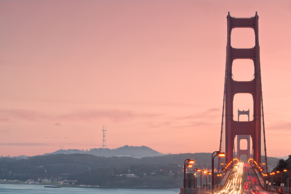 Sunset | Golden Gate Bridge: Image #20110124_107