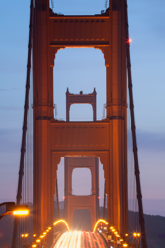 Golden Gate Bridge | Colorful Sunset: Image #20110124_122