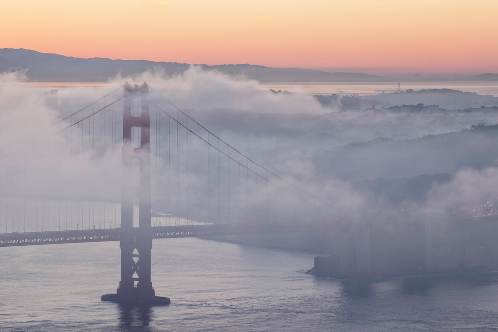 Foggy Morning at the Golden Gate Bridge: Image #20111216_0060