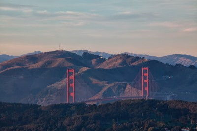 Golden Gate Bridge Photo | Twin Peaks View