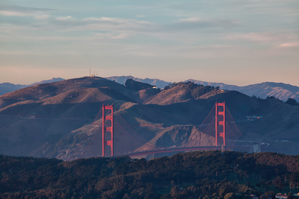 Golden Gate Bridge | Twin Peaks View: Image #20111216_0164